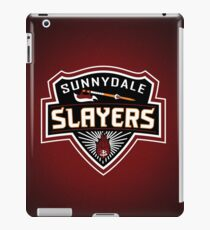 Sunnydale Slayers iPad Case/Skin