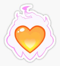 Burning Heart Sticker