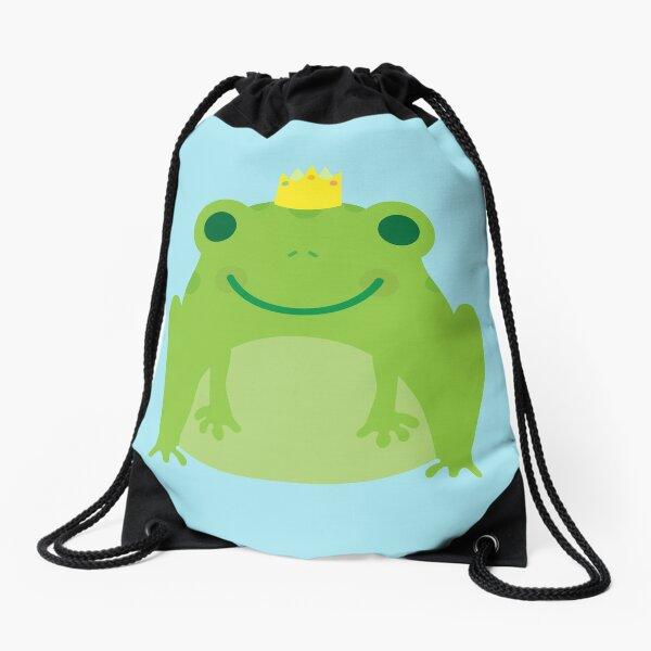 Cute Kawaii Frog Drawstring Bag