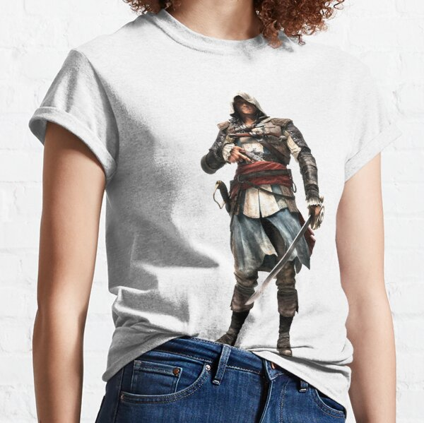 Assassin's Creed Black Flag T-shirt classique