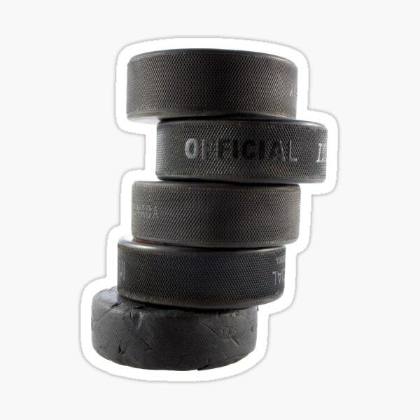 Official ice hockey pucks Sticker