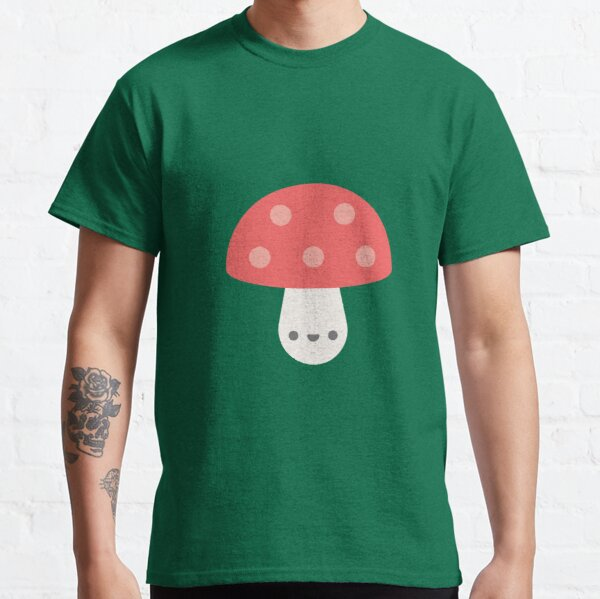 Cute Kawaii Mushroom Classic T-Shirt
