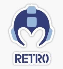 Retro - Blue Bomber Sticker