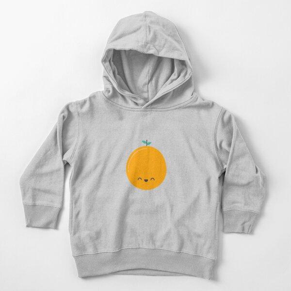 Cute Kawaii Orange Toddler Pullover Hoodie