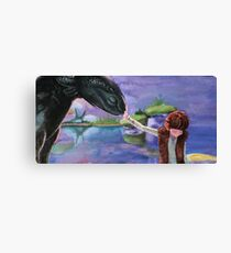 Forbidden Friendship Canvas Print