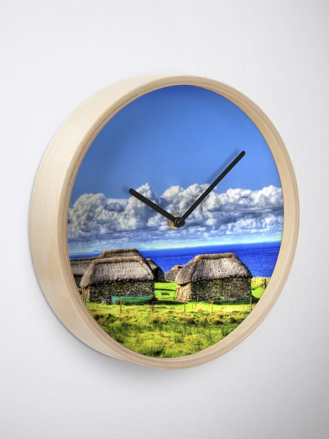 Alternate view of Crofter Houses Clock