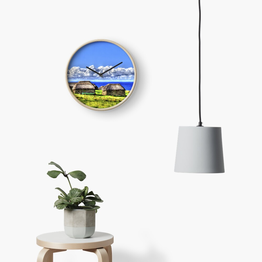 Crofter Houses Clock