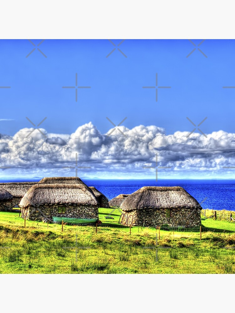 Crofter Houses by Focal-Art