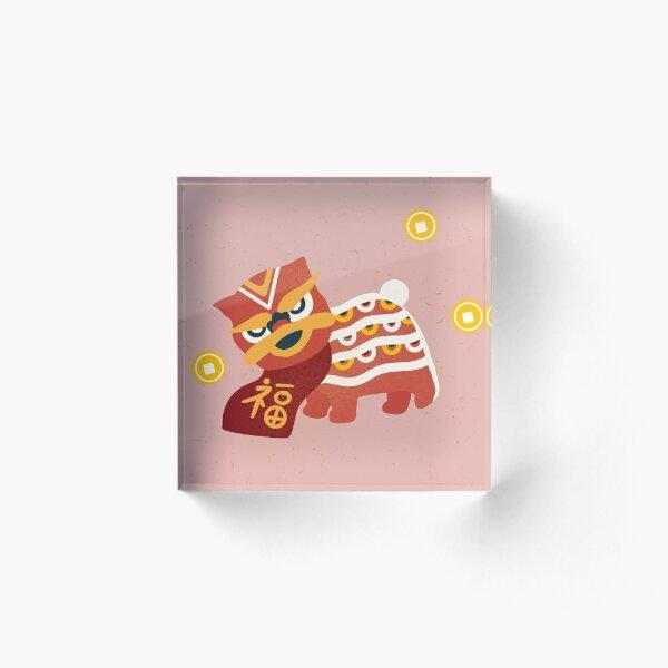 Happy Chinese New Year Acrylic Block