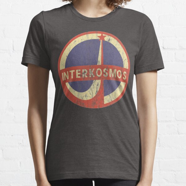Interkosmos Russian Space Program Logo Essential T-Shirt