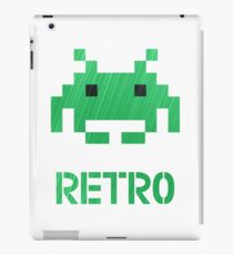 Retro - Invader Textured iPad Case/Skin