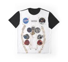 Neil Armstrong NASA Astronaut Spacesuit Graphic T-Shirt
