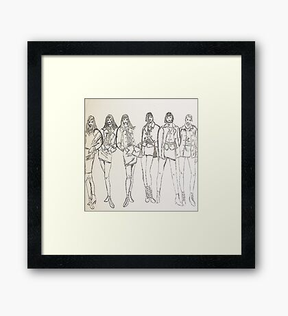 Group Portraits Framed Print