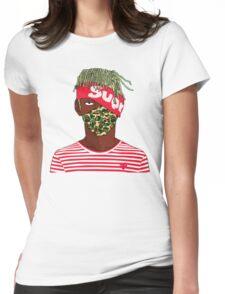 Lil Kakashi Uzi Womens Fitted T-Shirt