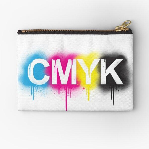 CMYK Zipper Pouch