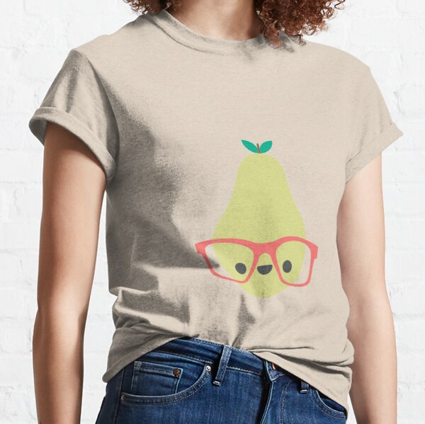 Cute Kawaii Pear Classic T-Shirt
