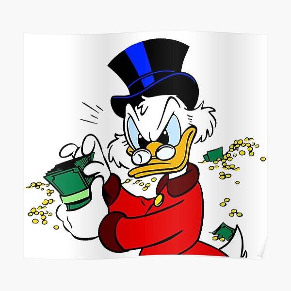 Dagobert Duck Poster