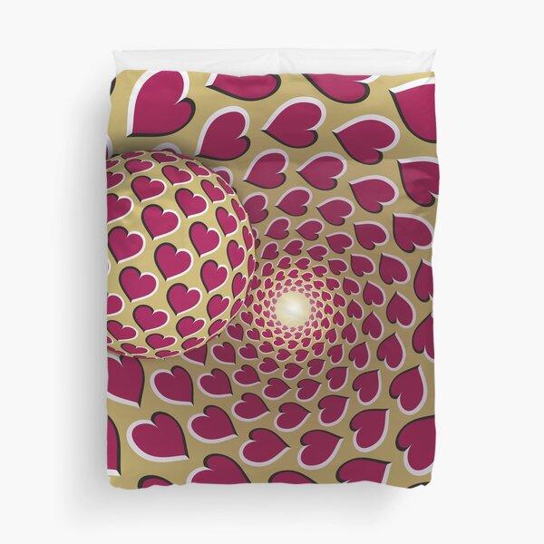 Optical illusion Duvet Cover