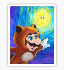 Tanooki Mario Sticker