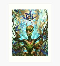The Insect King's Coronation Art Print