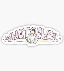 Whatever Cheerleader Sticker