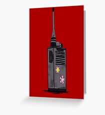 The Walkie Dead Greeting Card