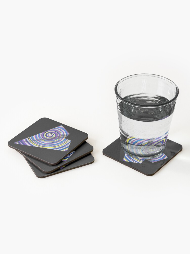 Alternate view of 1 - WINGS FOR FREEDOM Coasters (Set of 4)