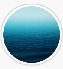 Deep Blue Sticker