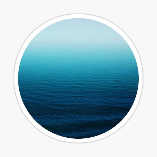Tiefes Blau Sticker