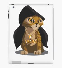Cute Gangster Kitty iPad Case/Skin