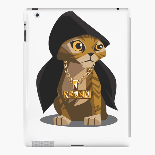 Cute Gangster Kitty iPad Snap Case