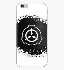 Abstact SCP symbol (black version) iPhone Case