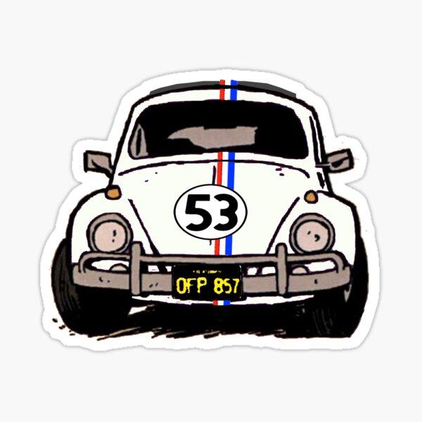 Herbie Sketch Sticker