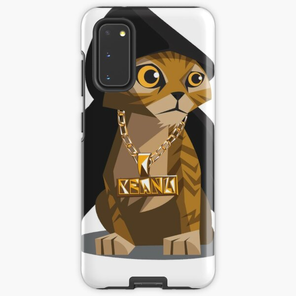 Cute Gangster Kitty Samsung Galaxy Tough Case