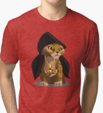 Cute Gangster Kitty Tri-blend T-Shirt