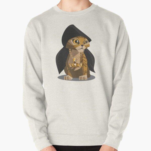 Cute Gangster Kitty Pullover Sweatshirt