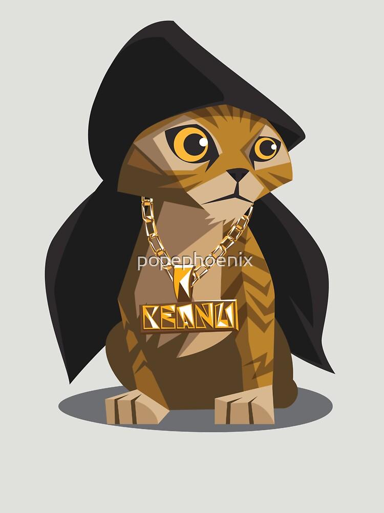 Cute Gangster Kitty by popephoenix