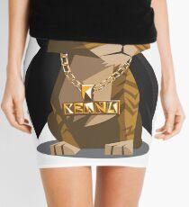 Cute Gangster Kitty Mini Skirt