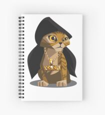 Cute Gangster Kitty Spiral Notebook
