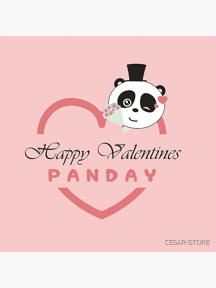 Valentines PANDAY by CESAR-STORE