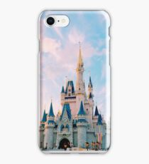 Castle with Cotton Candy Skies iPhone Case/Skin