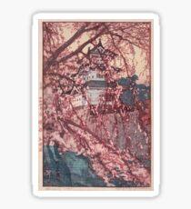Hirosaki Castle - Yoshida Hiroshi Sticker