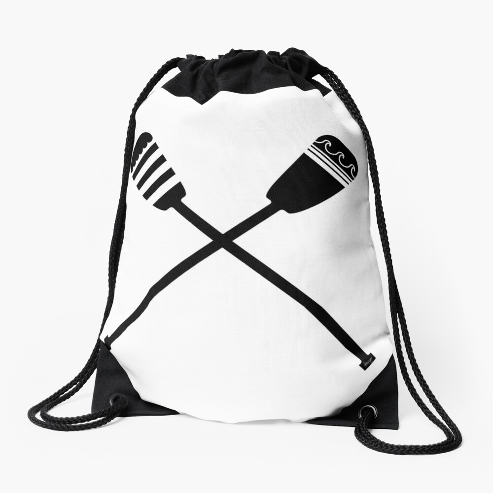 Rowing design Drawstring Bag