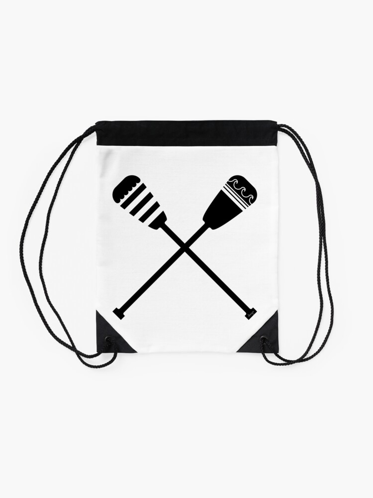 Alternate view of Rowing design Drawstring Bag