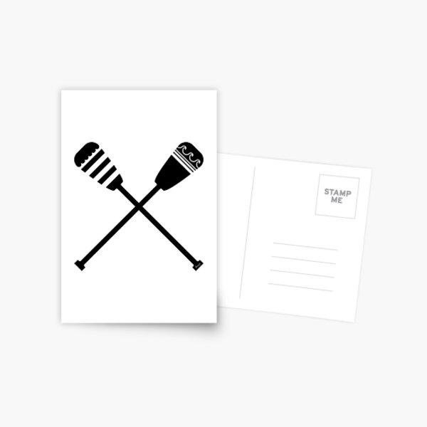 Rowing design Postcard
