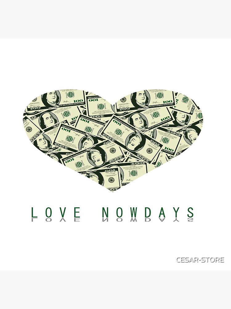 Valentine Parody   Love nowdays by CESAR-STORE