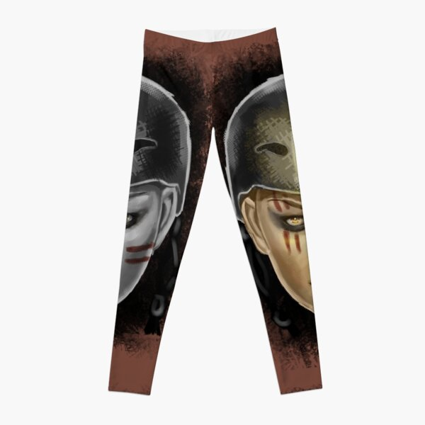 Roller Derby Warrior Girl Leggings