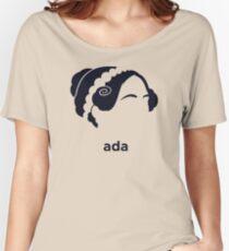 Ada Lovelace (Hirsute History) Women's Relaxed Fit T-Shirt