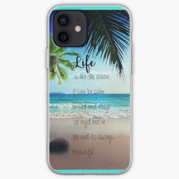 Life is a Beach iPhone Soft Case