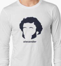 Alexander Pushkin (Hirsute History) Long Sleeve T-Shirt